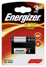 Blister unitaire 2CR5 - photo lithium - 6V - Energizer